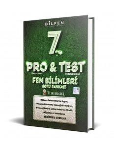Bilfen Yayınları 7. Sınıf ProTest Fen Bilimleri Soru Bankası