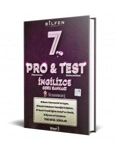 Bilfen Yayınları 7. Sınıf ProTest İngilizce Soru Bankası
