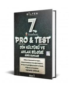 Bilfen Yayınları 7. Sınıf ProTest Din Kültürü Soru Bankası