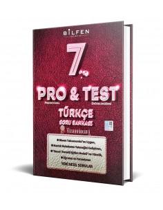 Bilfen Yayınları 7. Sınıf ProTest Türkçe Soru Bankası