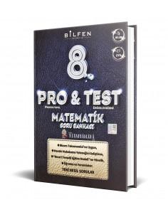 Bilfen Yayınları 8. Sınıf ProTest Matematik Soru Bankası