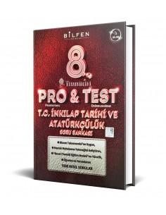 Bilfen Yayınları 8. Sınıf ProTest T.C İnkılap Tarihi Soru Bankası