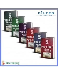 Bilfen 5. Sınıf ProTest Tüm Dersler Soru Bankası Kampanyalı Set (6 Kitap)