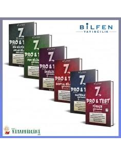 Bilfen 7. Sınıf ProTest Tüm Dersler Soru Bankası Kampanyalı Set (6 Kitap)
