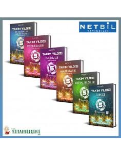 Netbil 5. Sınıf Takım Yıldızı Tüm Dersler Soru Bankası Kampanyalı Set (6 Kitap)