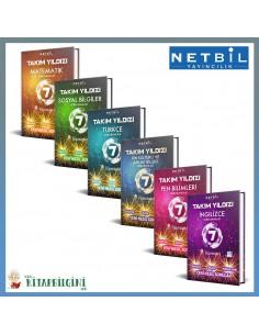 Netbil 7. Sınıf Takım Yıldızı Tüm Dersler Soru Bankası Kampanyalı Set (6 Kitap)
