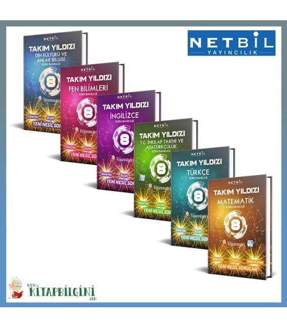 Netbil 8. Sınıf Takım Yıldızı Tüm Dersler Soru Bankası Kampanyalı Set (6 Kitap)