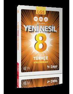 Sınav Yayınları 8. Sınıf LGS Türkçe Yeni Nesil Soru Bankası