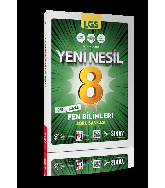 Sınav Yayınları 8. Sınıf LGS Fen Bilimleri Yeni Nesil Soru Bankası