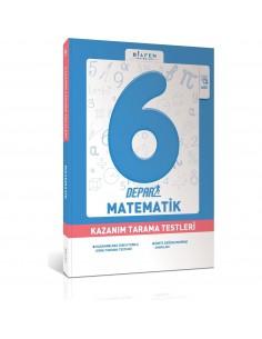 Bilfen Yayınları 6. Sınıf Depar Matematik Kazanım Tarama Testleri