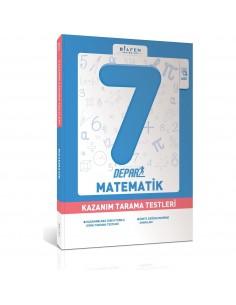 Bilfen Yayınları 7. Sınıf Depar Matematik Kazanım Tarama Testleri