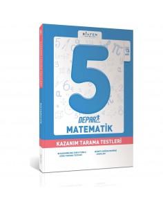 Bilfen Yayınları 5. Sınıf Depar Matematik Kazanım Tarama Testleri