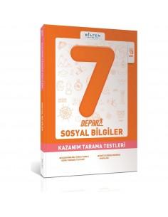Bilfen Yayınları 7. Sınıf Depar Sosyal Bilgiler Kazanım Tarama Testleri