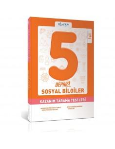 Bilfen Yayınları 5. Sınıf Depar Sosyal Bilgiler Kazanım Tarama Testleri