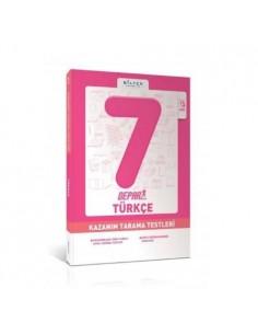 Bilfen Yayınları 7. Sınıf Depar Türkçe Kazanım Tarama Testleri