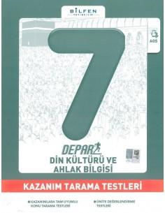 Bilfen Yayınları 7. Sınıf Depar Din Kültürü Kazanım Tarama Testleri