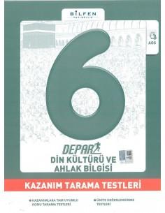 Bilfen Yayınları 6. Sınıf Depar Din Kültürü Kazanım Tarama Testleri
