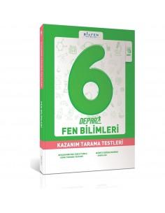 Bilfen Yayınları 6. Sınıf Depar Fen Bilimleri Kazanım Tarama Testleri