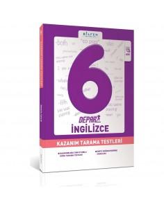Bilfen Yayınları 6. Sınıf Depar İngilizce Kazanım Tarama Testleri