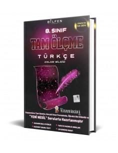 Bilfen Yayınları 8. Sınıf Türkçe Tam Ölçme Kitabı