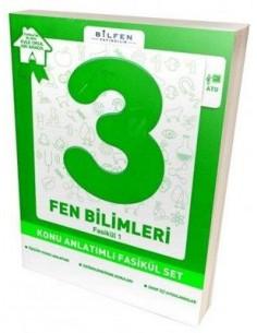 Bilfen Yayınları İlkokul 3.Sınıf Fen Bilimleri Konu Anlatımlı Yardımcı Fasikül Set – Ödev Fasikülleri