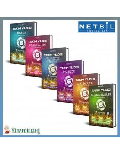 Netbil 6. Sınıf Takım Yıldızı Tüm Dersler Soru Bankası Kampanyalı Set (6 Kitap)