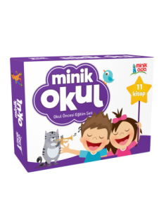 Minik Ada Yayınları Minik Okul Eğitim Seti (+36 Ay)