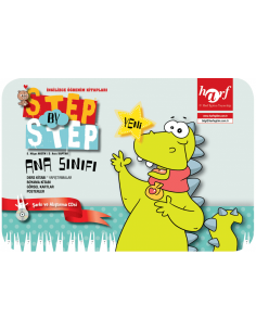 Step By Step English Preschool (Okul Öncesi) Seti