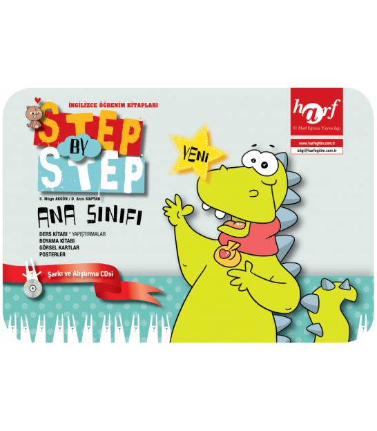 Step By Step English Preschool Okul öncesi Seti