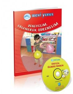 Mavi Yunus Deneyelim Eğlenerek Öğrenelim - Uygulama CD'li (5-6 Yaş)
