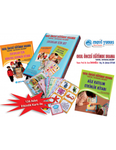 Mavi Yunus Okul Öncesi Eğitimde Drama - Çocuklar İçin Set (4-5 Yaş)