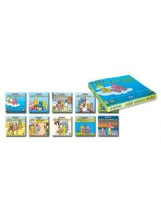 Mavi Yunus Yayınları Mini Boyama Dizisi (10 kitap) (3-4 Yaş)