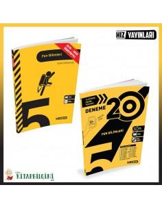 Hız Yayınları 5. Sınıf Fen Bilimleri Kampanyalı Set (2 Kitap)