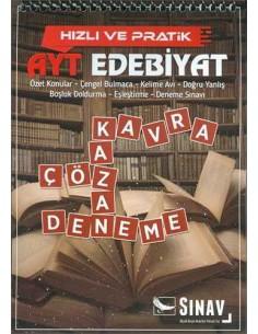Sınav Yayınları AYT Hızlı ve Pratik Edebiyatı