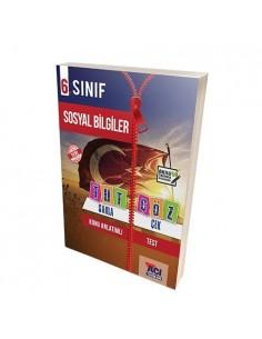 Açı Yayınları 6. Sınıf Sosyal Bilgiler Tut Sakla Çek Çöz