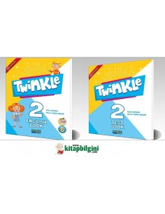 Schola Publishing 2. Sınıf Twinkle English ve Test Book Set 2' li