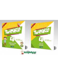 Schola Publishing 4. Sınıf Twinkle English ve Test Book Set 2' li