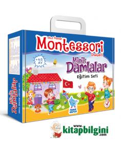 Damla Yayınları Minik Damlalar Eğitim Seti (Montessori) +48 Ay
