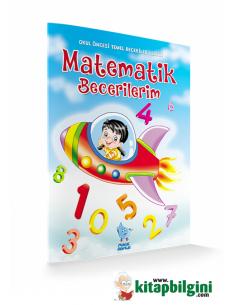 Damla Yayınları Minik Damla Matematik Becerilerim