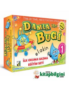 Damla Yayınları Damla ile Bugi İlk Okuma Yazma Seti (1. Sınıf)