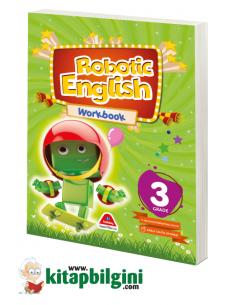 Damla Yayınları Robotic English Workbook - 3 Grade