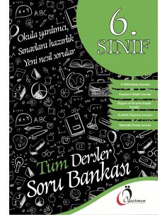 Öğretmen Yayınları 6.Sınıf Tüm Dersler Soru Bankası