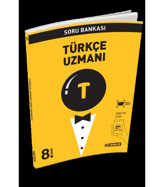 Hız Yayınları 8.Sınıf Türkçe Uzmanı Soru Bankası