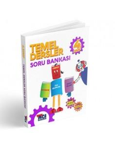 Açı Yayınları 4. Sınıf Temel Dersler Soru Bankası