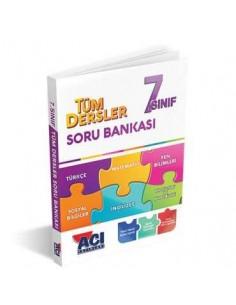 Açı Yayınları 7.Sınıf Tüm Dersler Soru Bankası