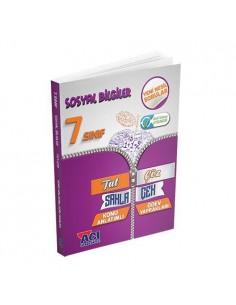 Açı Yayınları 7. Sınıf Sosyal Bilgiler Tut Sakla Çek Çöz