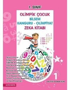 Altın Nokta 1.Sınıf Olimpik Çocuk Matematik ve Zeka Test Kitabı