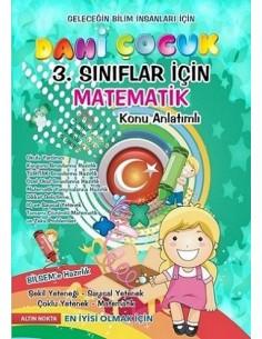 Altın Nokta 3.ve 4.Sınıf Dahi Çocuk 2 BİLSEM Hazırlık Matematik