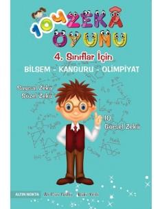 Altın Nokta BİLSEM ve Matematik Olimpiyatları 104 Zeka Oyunu (9+ Yaş)
