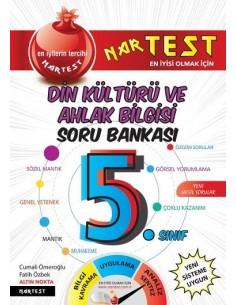 Nartest 5. Sınıf Süper Zeka Din Kültürü Soru Bankası
